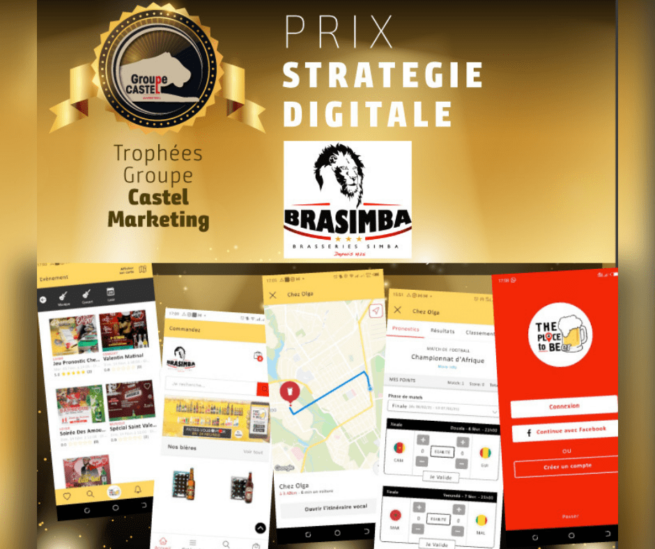 Prix castel beer groupe strategie digitale